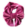 Image of Reagan Velvet Headband Bow - Fuchsia
