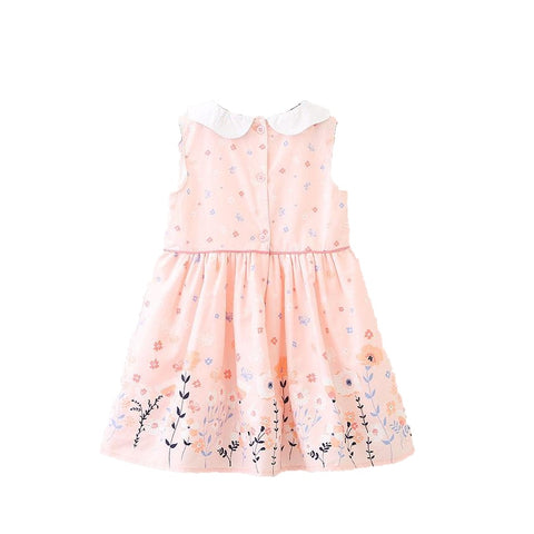 Richelle Peter Pan Collar Floral Summer Dress