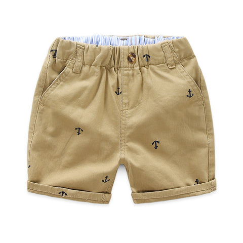 Bryce Anchor Print Shorts - Various Colors