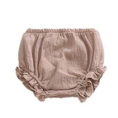 Laurie Ruffle Leg Bloomers - Taupe
