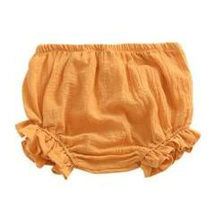 Laurie Ruffle Leg Bloomers - Mustard