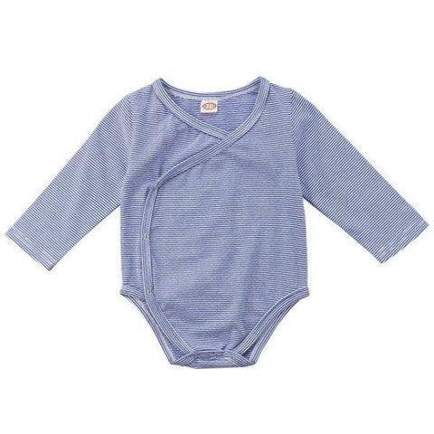 George Striped Onesie - Blue