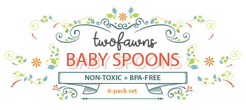 two-fawns-baby-soft-bpa-free-silicone-self-feeding-spoons-multiple-colors-6-pack