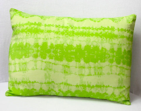 'Garden Path' Shibori Pillow