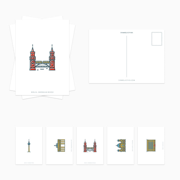 BERLIN Postcard Set