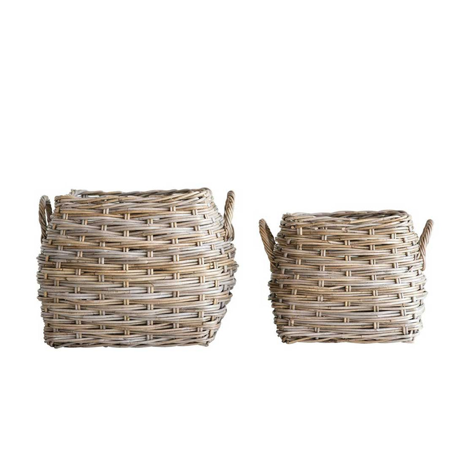TISBURY BASKETS-Set of 2