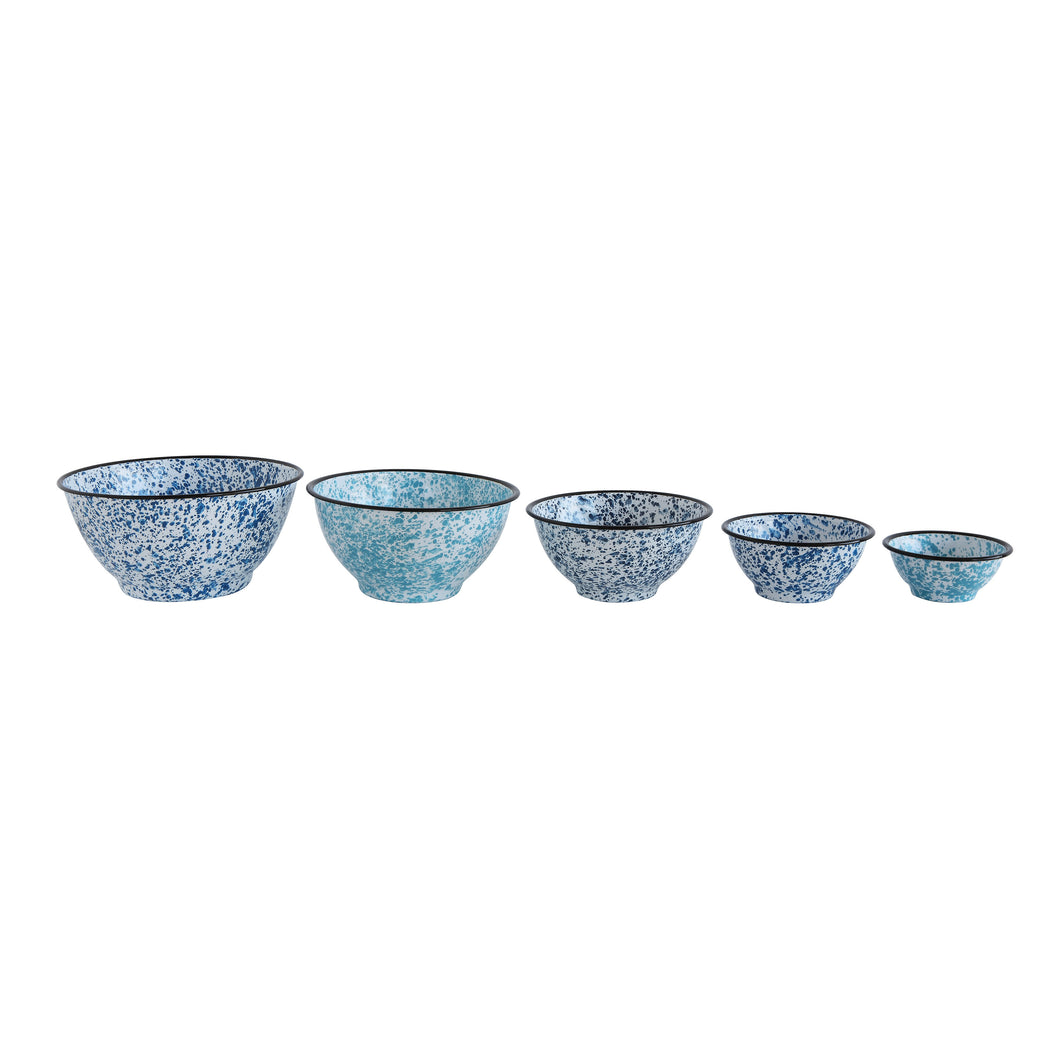 OCEAN SPRAY ENAMEL BOWLS