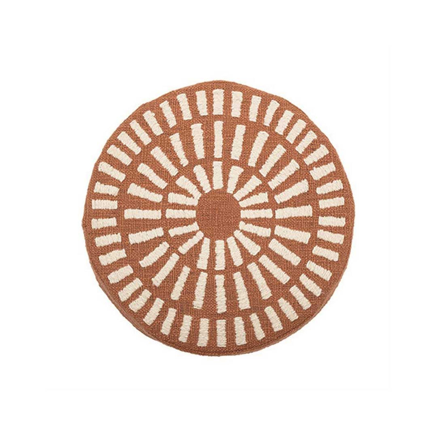 SAND DOLLAR CIRCLE PILLOW