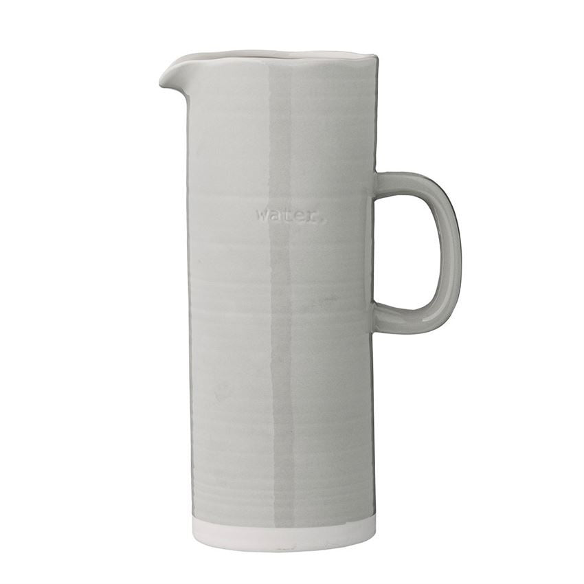 WATER EMBOSSED PITCHER