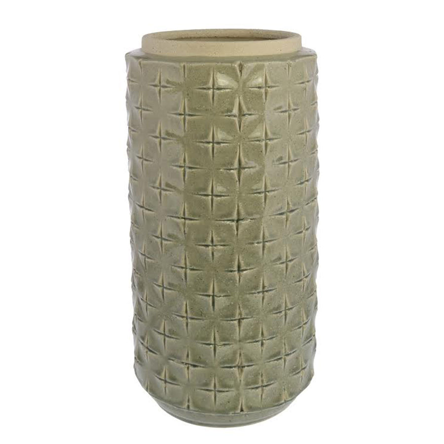 SHELL HARBOR TALL VASE