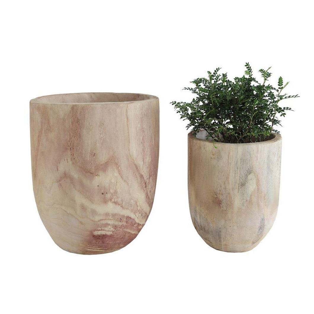 PIERVIEW POTS, set of 2