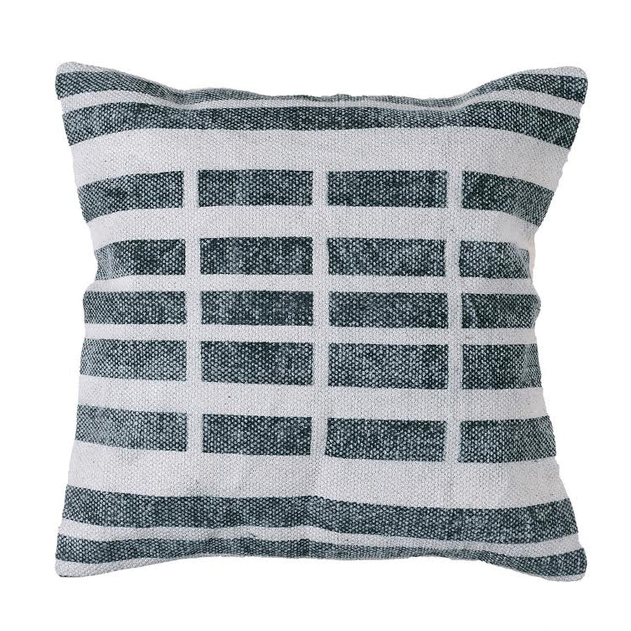 11TH STREET BLOCK PILLOW, set of 2