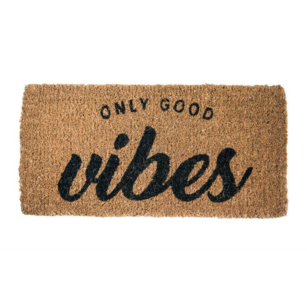 ONLY GOOD VIBES DOORMAT