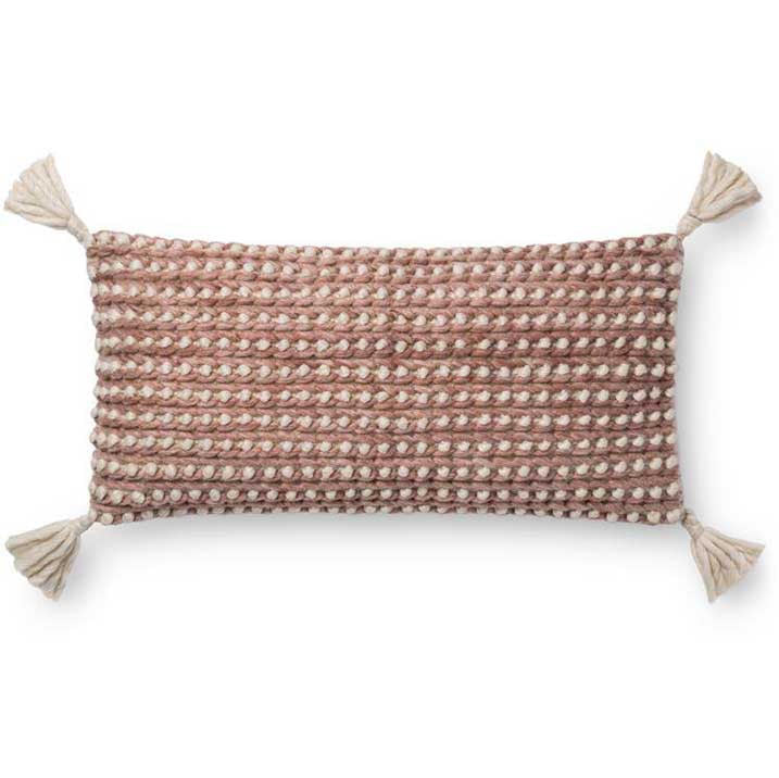 WHELK BURGUNDY PILLOW