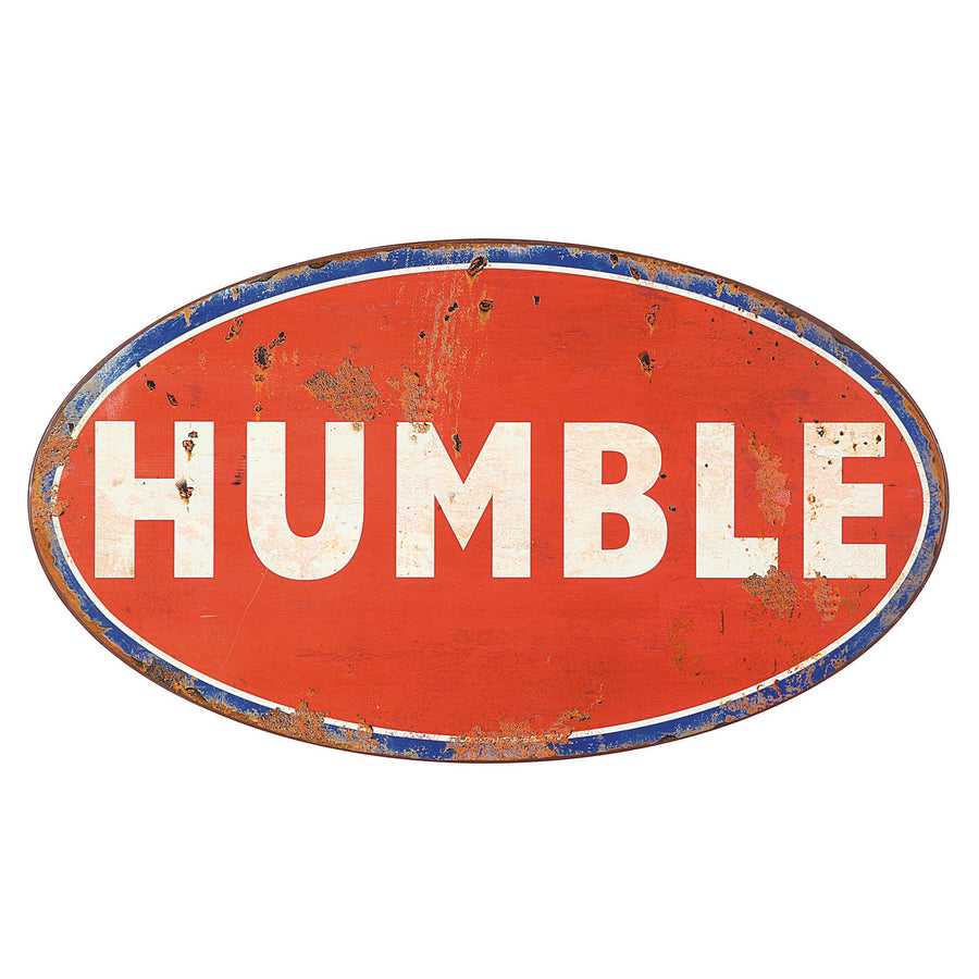 VINTAGE HUMBLE SIGN
