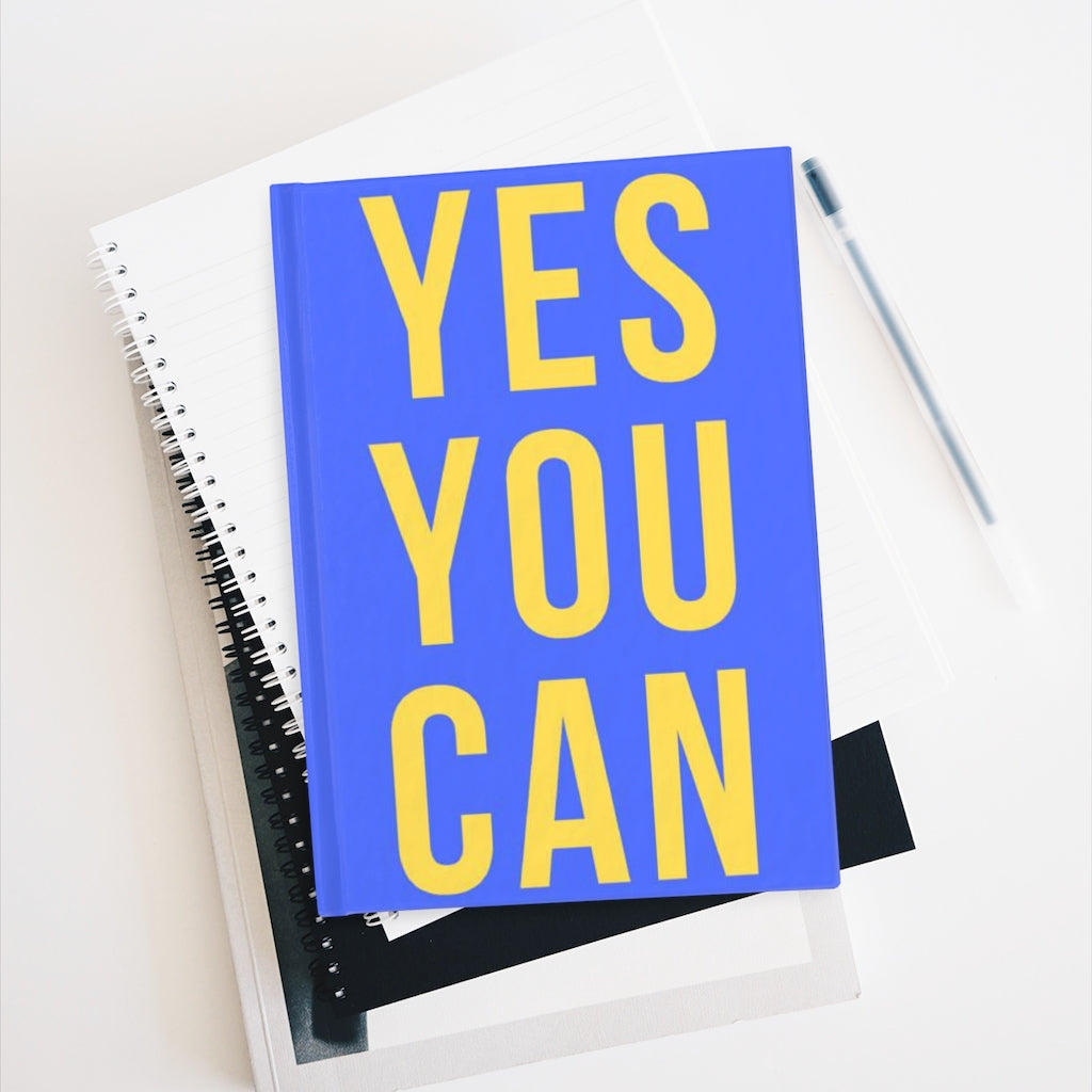 YES YOU CAN GOAL JOURNAL