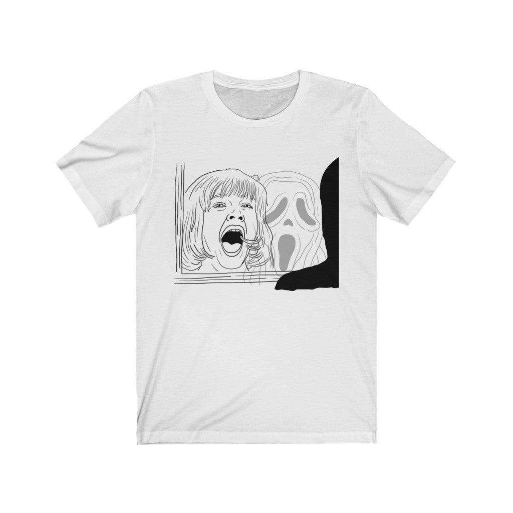 WHAT'S YOUR FAVORITE SCARY MOVIE? TEE