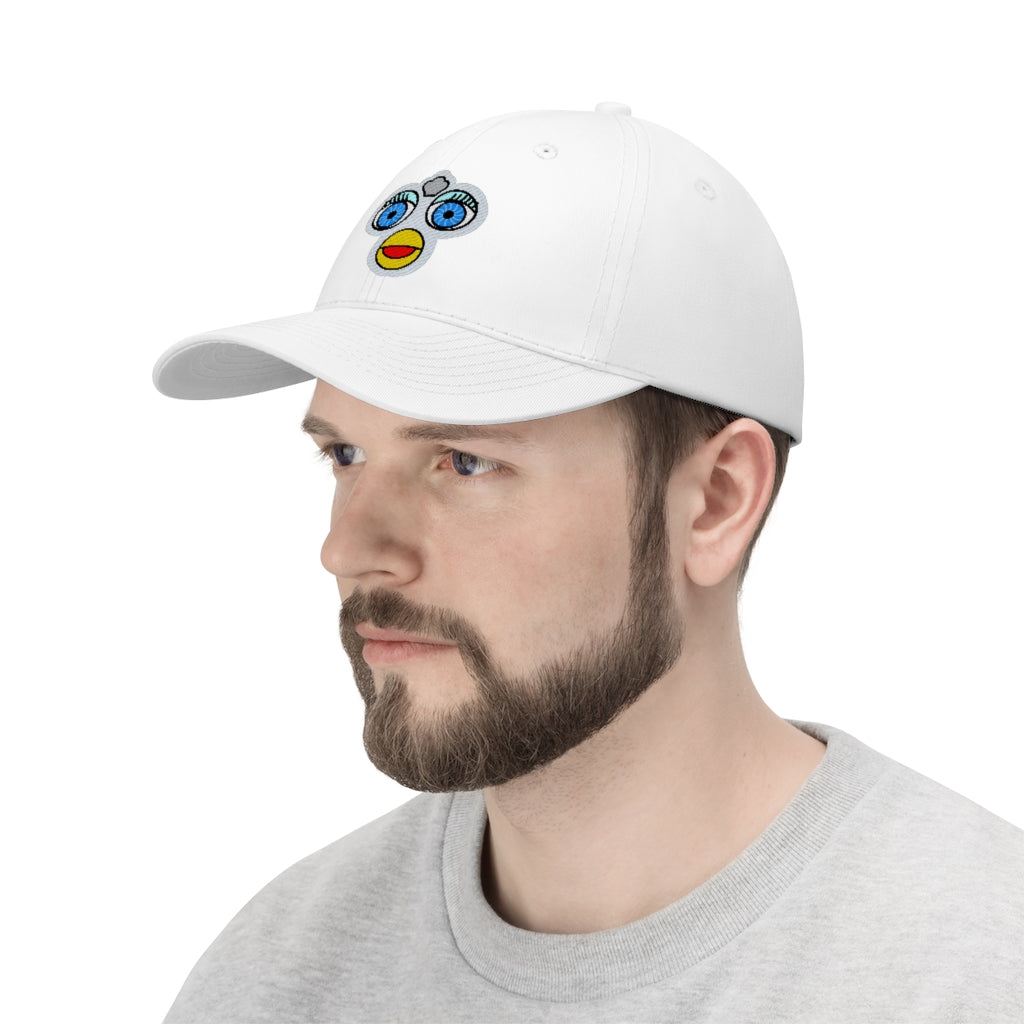 FURBY FACE PLATE SNAPBACK HAT