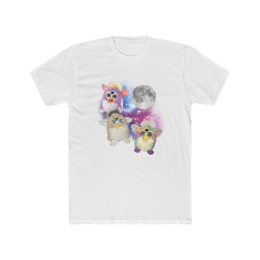 THREE FURB MOON TEE