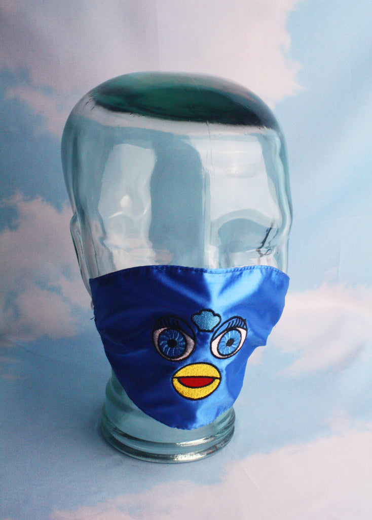 FURBY FACE MASK BLUE