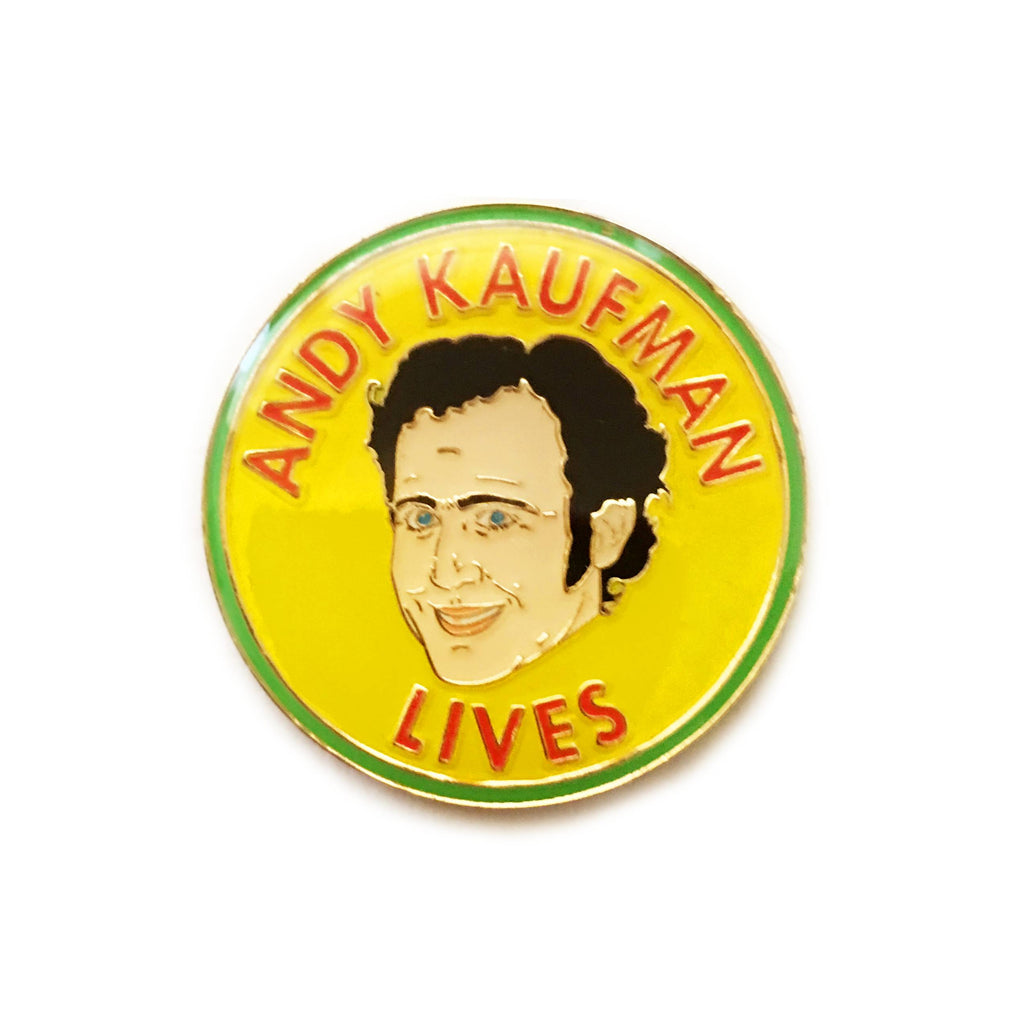 ANDY KAUFMAN LIVES PIN