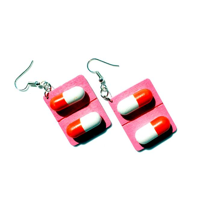 MY PILLS EARRINGS