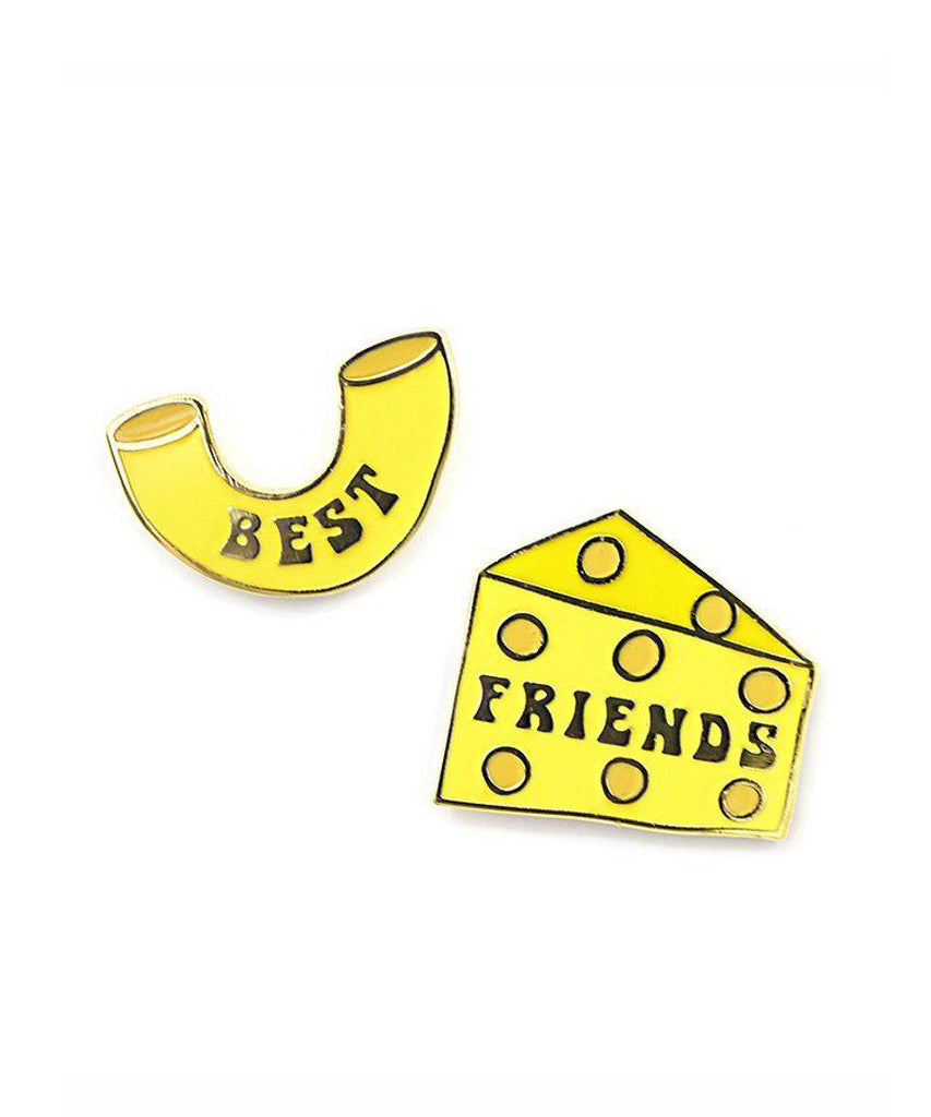 BEST FRIENDS MAC & CHEESE PIN SET