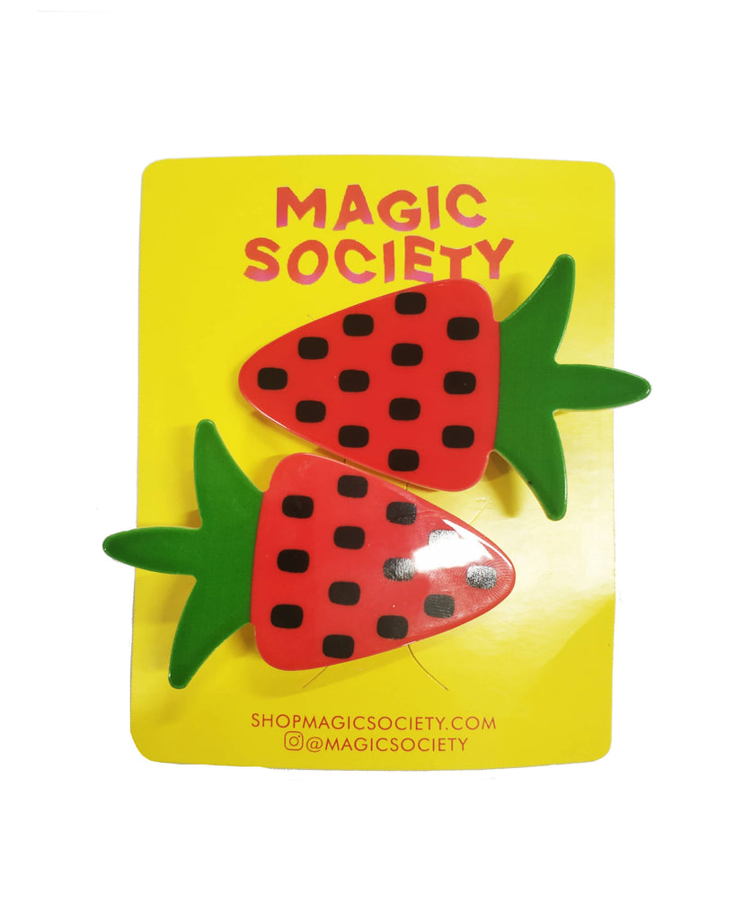 STRAWBERRY CUTIE CLIPS