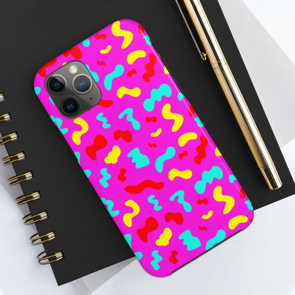 PINK SQUIGGLE IPHONE 11 CASE
