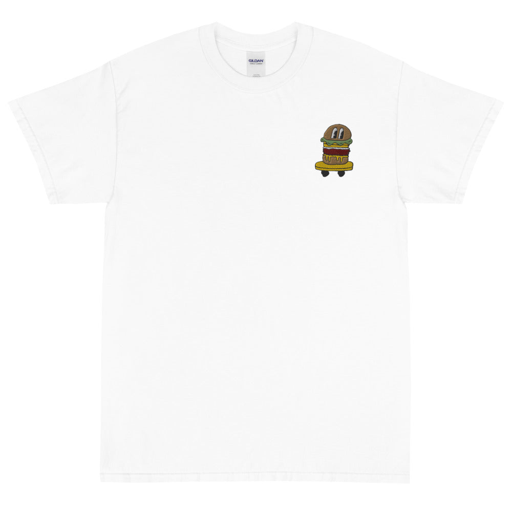BURGER SKATER EMBROIDERED TEE