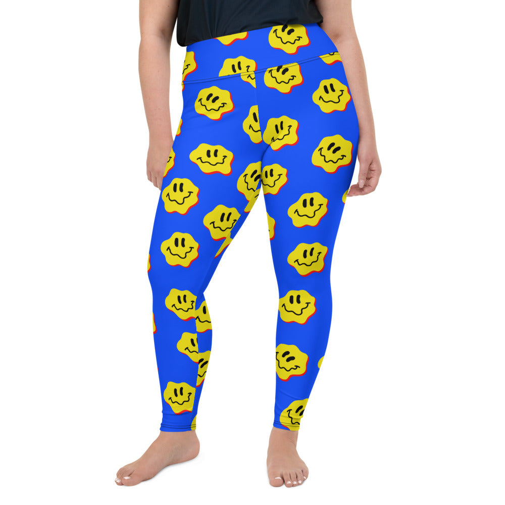 DRIPPY FACE PLUS SIZE LEGGINGS