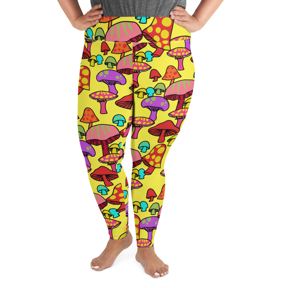 SHROOM PLUS SIZE LEGGINGS
