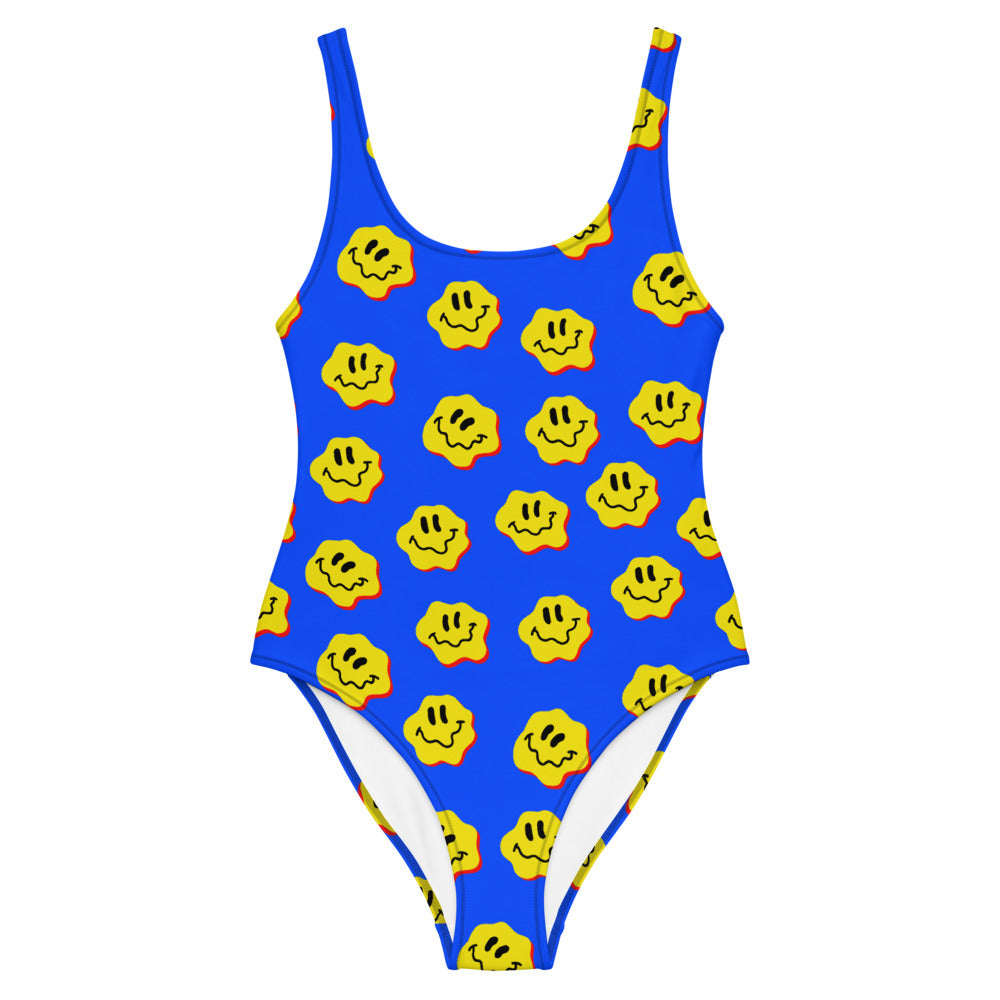 DRIPPY FACE SWIMSUIT