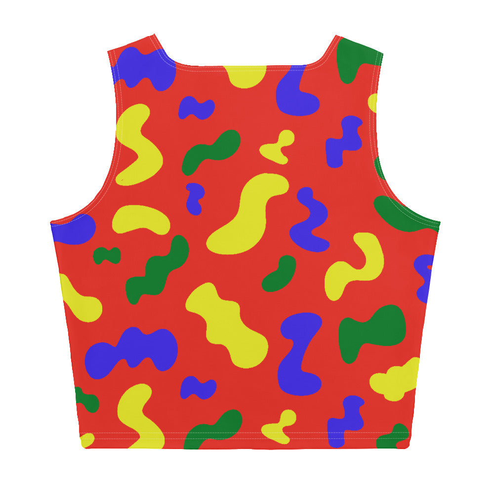 SQUIGGLE TANK CROP TOP