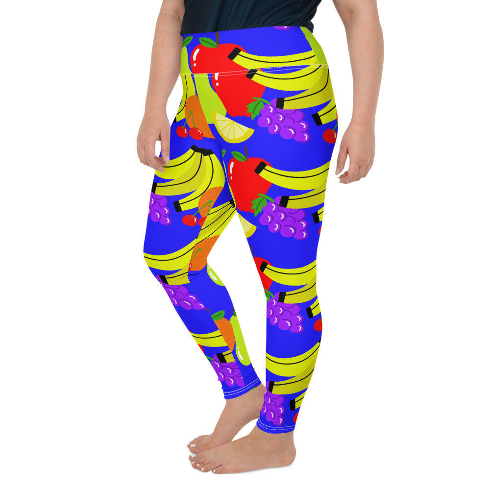 FRUITY PLUS SIZE LEGGINGS