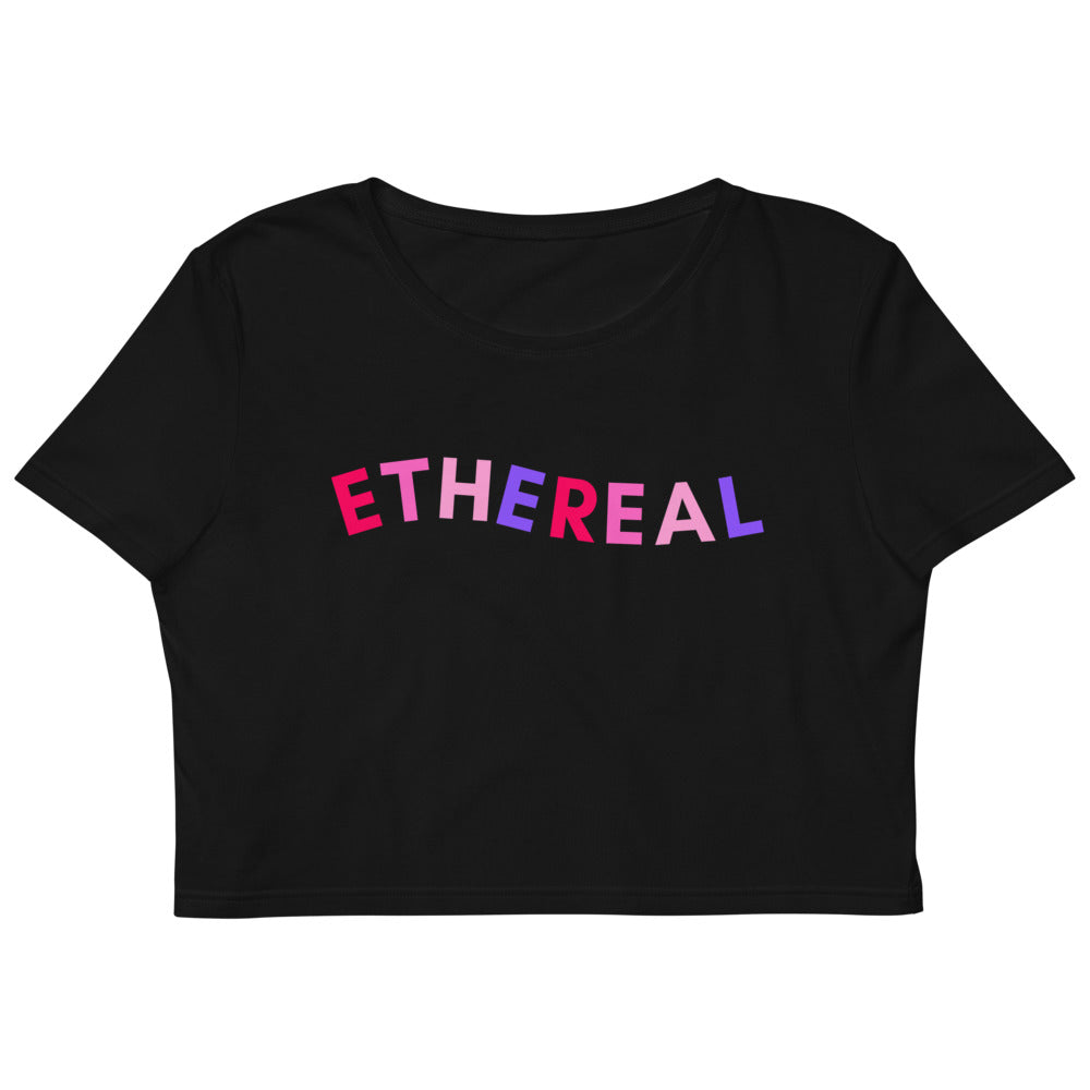 ETHEREAL CROP TOP TEE