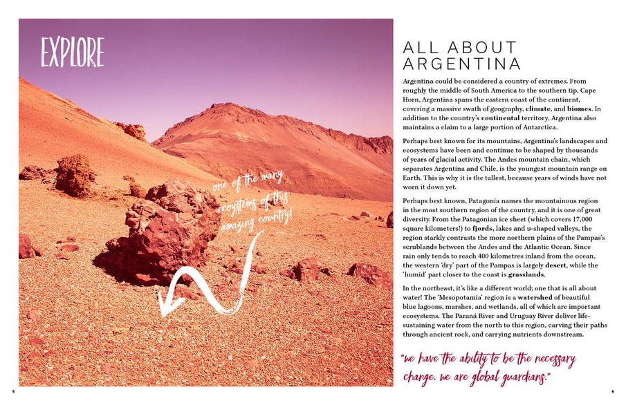 Learn All About Argentina: Animals, Plants, Ecosystems and More
