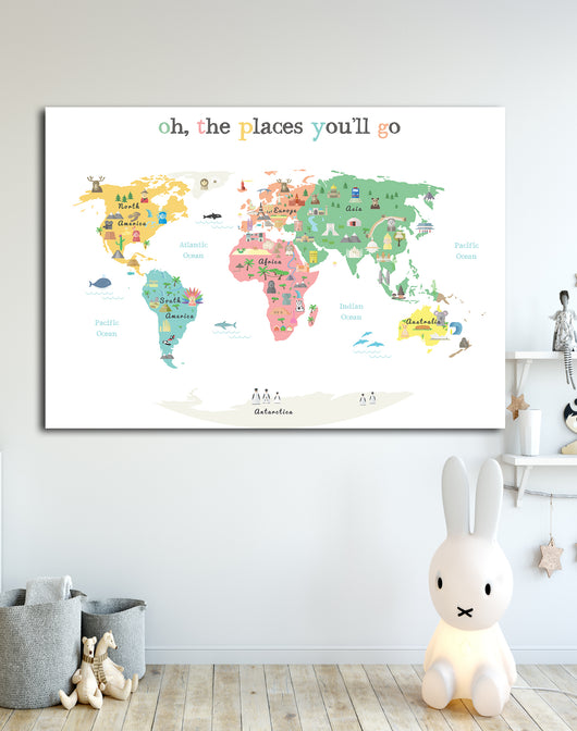 Oh, The Places You'll Go Print