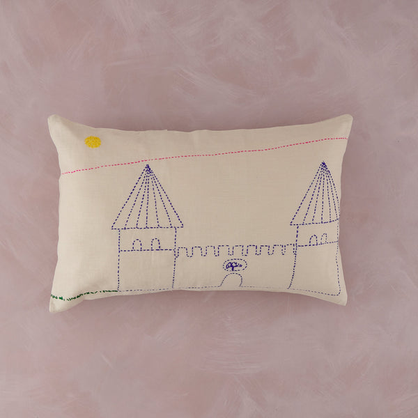 Hand Stitched Cushion Covers by Yıldız Şermet, City Walls I - PATA  Art & Design