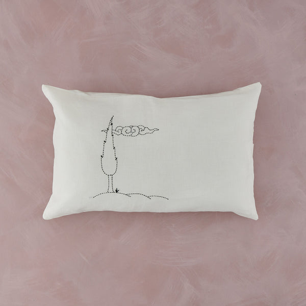 Hand Stitched Cushion Covers by Yıldız Şermet, Cypress Trees with Cloud - PATA  Art & Design