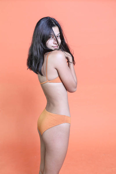 Maya Low Waist Undies Pumpkin