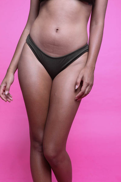 Maya Low Waist Undies Olive