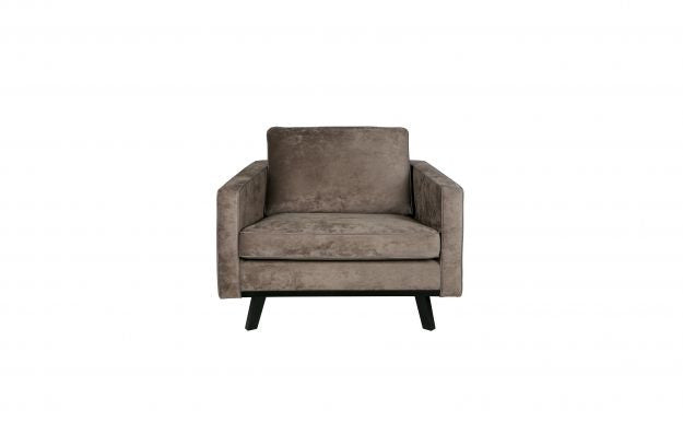 Armchair REBEL brushed