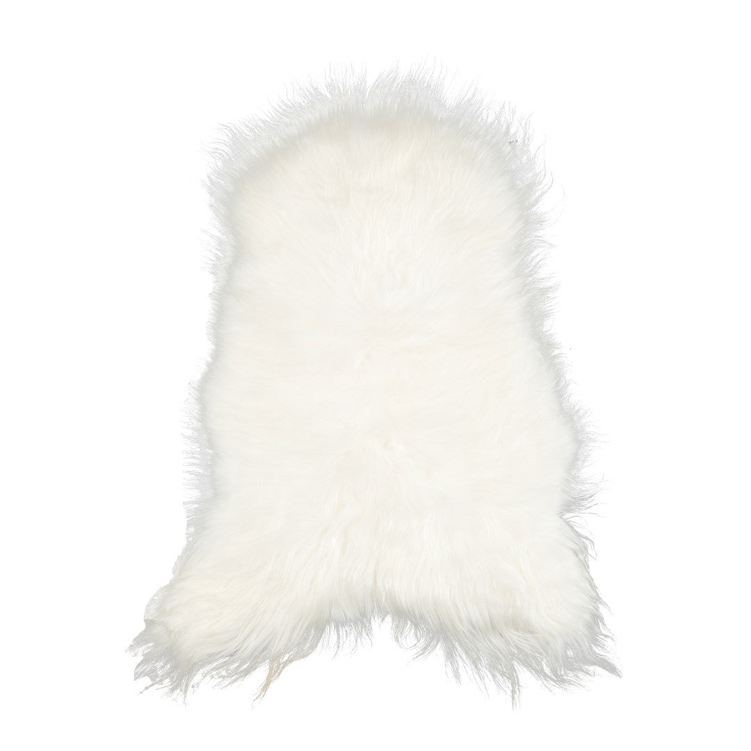 Sheepskin rug, shorthaired