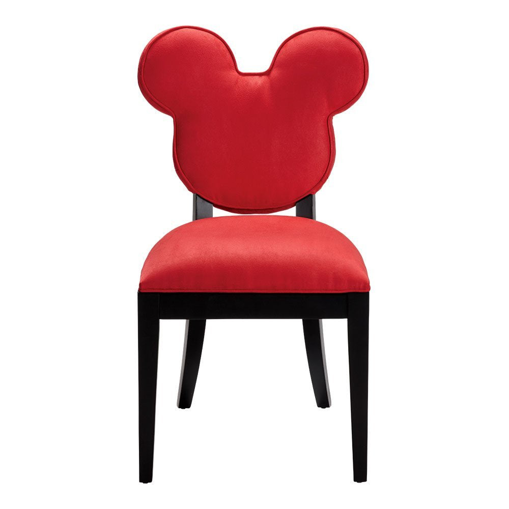 Ethan Allen | Disney Mickey Mouse Everywhere Chair, Quick Ship, Cool Red