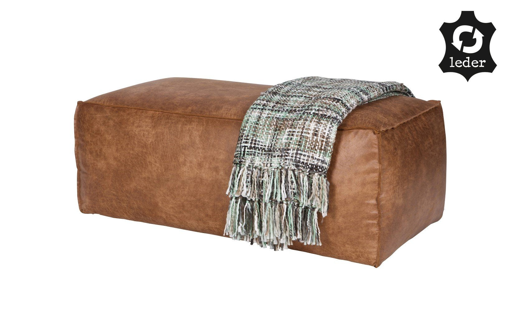 Pouf RODEO leather