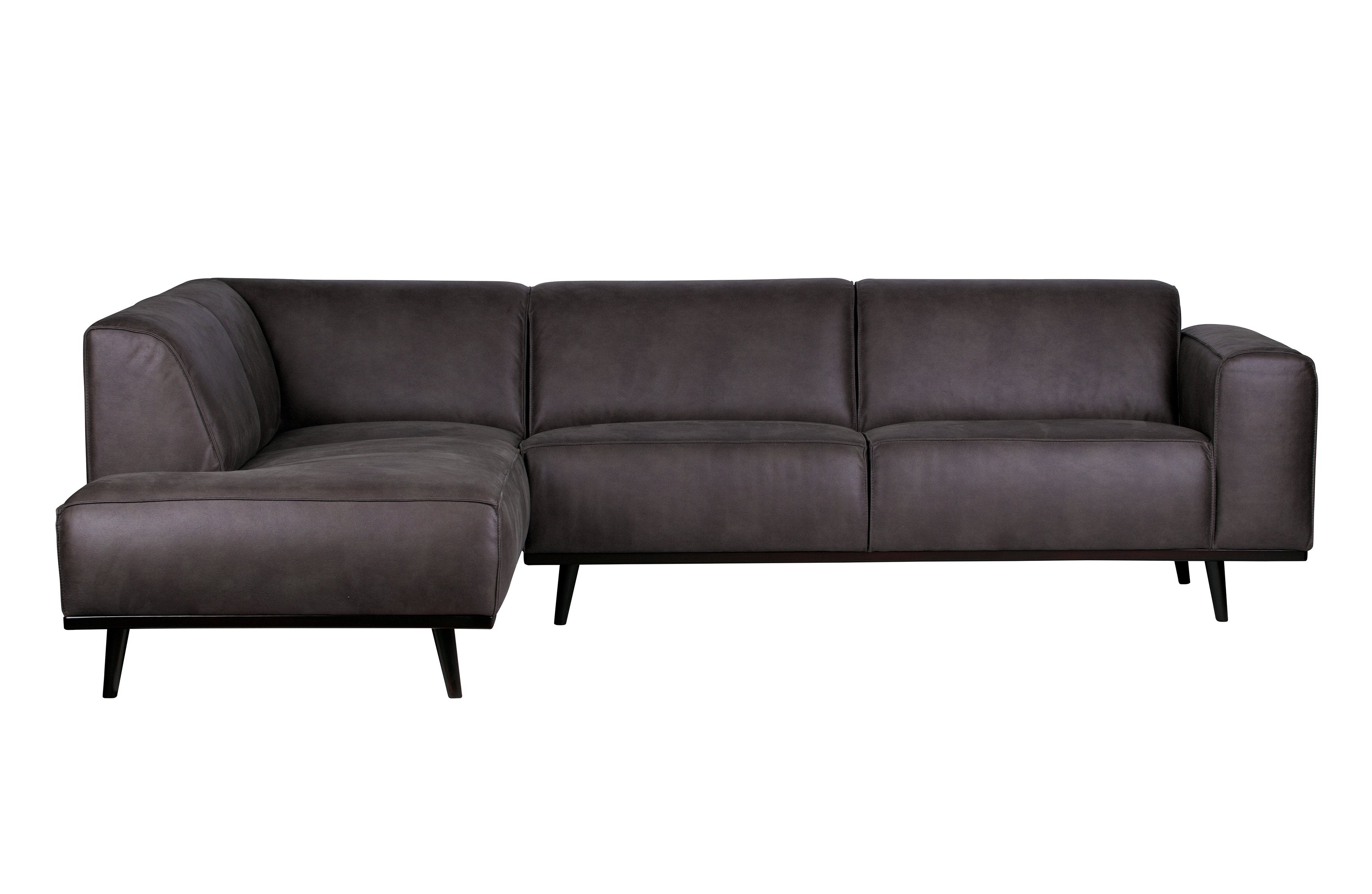 Corner sofa STATEMENT leather