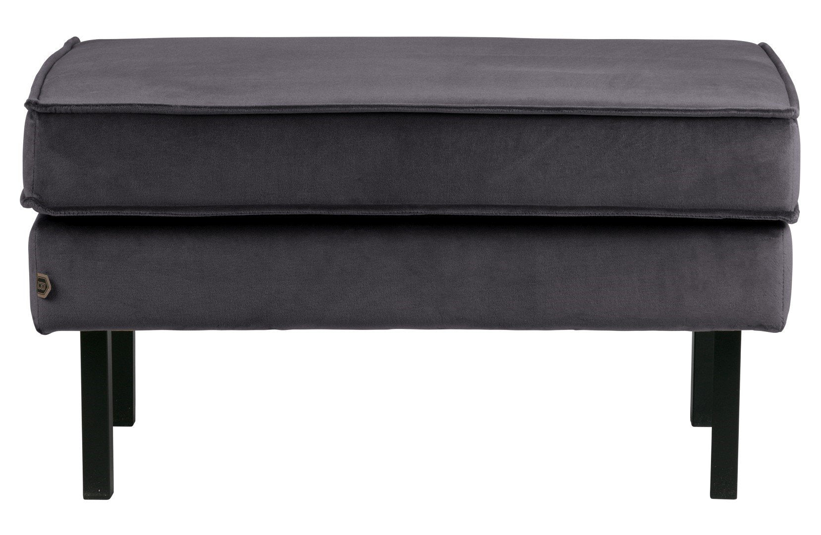 Pouf with legs RODEO velvet