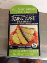 Wild Pacific Sardines Chilli & Lime Raincoast Trading