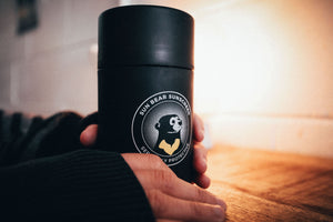 Sun Bear Sunscreen branded Frank Green Reusable Coffee Cup
